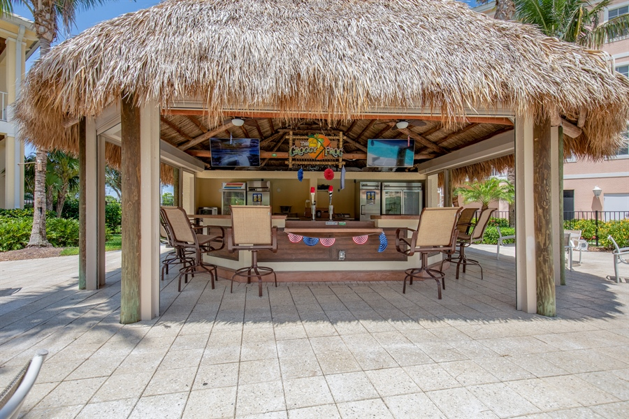 Real Estate Photography - 3901 kensway, unit 3501, Bonita Springs, FL, 34134 - Bar