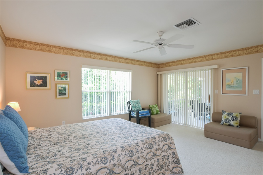 Real Estate Photography - 3605 Corinthian Way, Naples, FL, 34105 - Master Bedroom