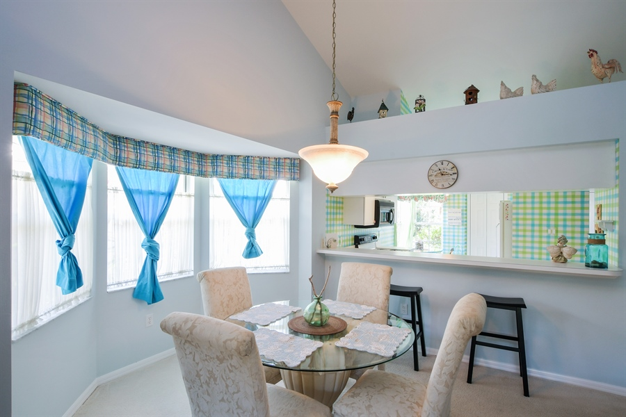 Real Estate Photography - 3605 Corinthian Way, Naples, FL, 34105 - Dining Area