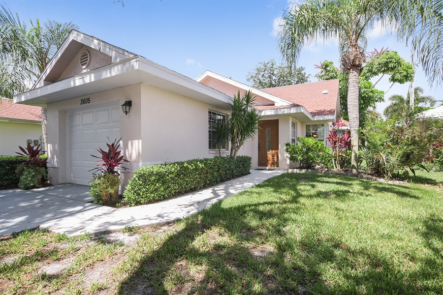 Real Estate Photography - 3605 Corinthian Way, Naples, FL, 34105 - Front View
