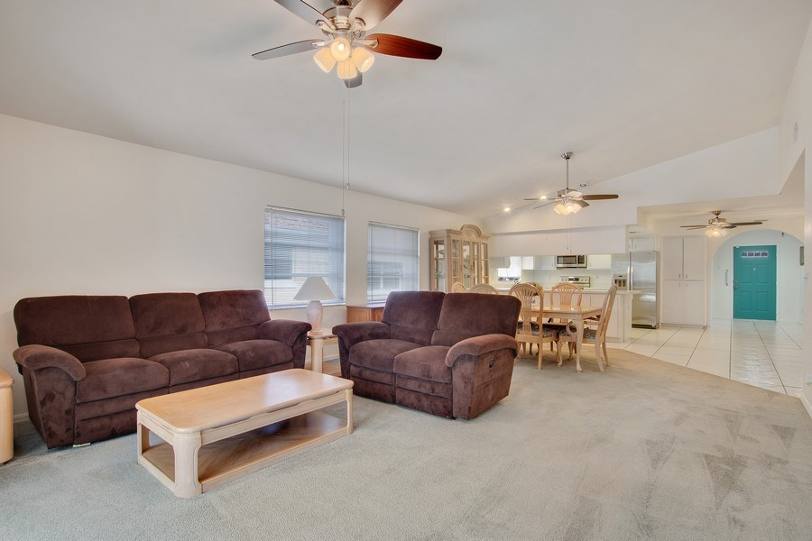 Real Estate Photography - 552 99th Ave N, Naples, FL, 34108 - Living Room