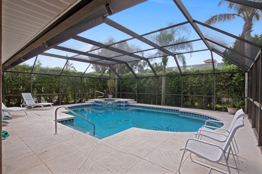 Real Estate Photography - 552 99th Ave N, Naples, FL, 34108 - Pool