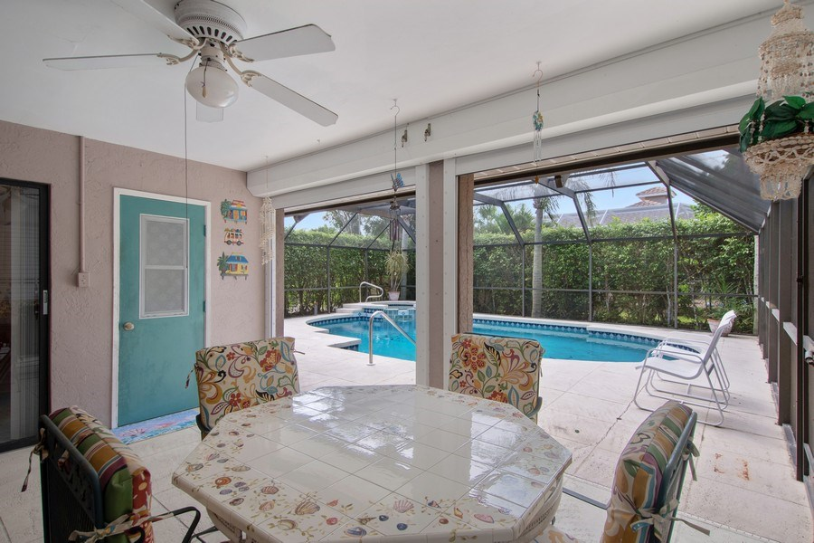 Real Estate Photography - 552 99th Ave N, Naples, FL, 34108 - Patio