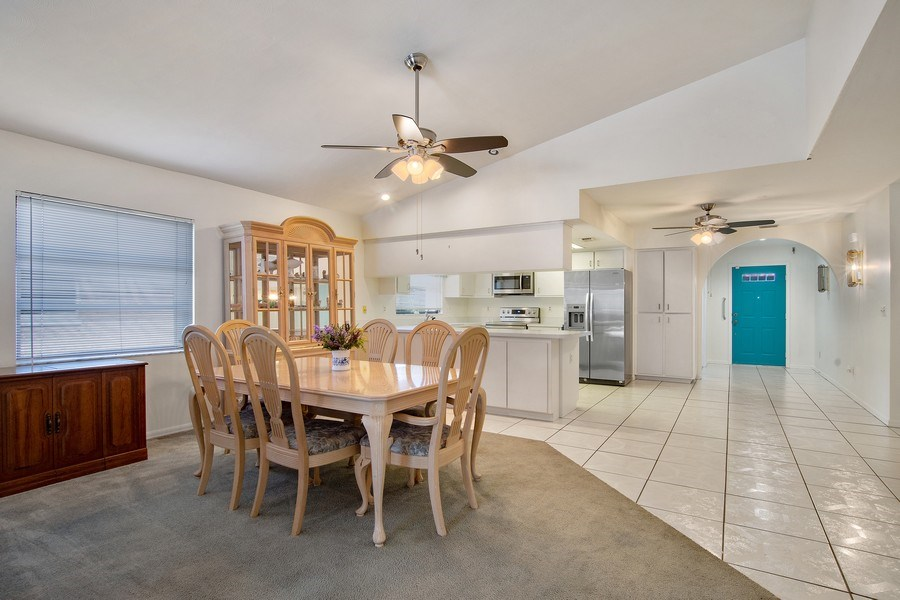 Real Estate Photography - 552 99th Ave N, Naples, FL, 34108 - Kitchen / Dining Room