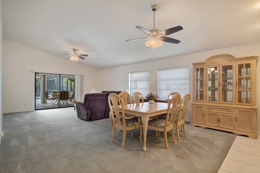 Real Estate Photography - 552 99th Ave N, Naples, FL, 34108 - Living Room / Dining Room