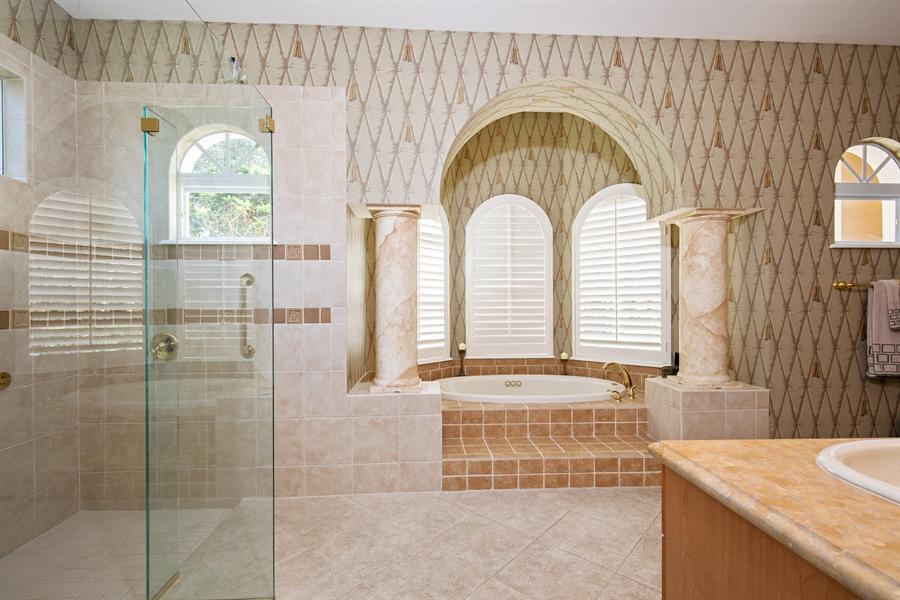 Real Estate Photography - 2955 Gardens Blvd, Naples, FL, 34105 - Master Bathroom