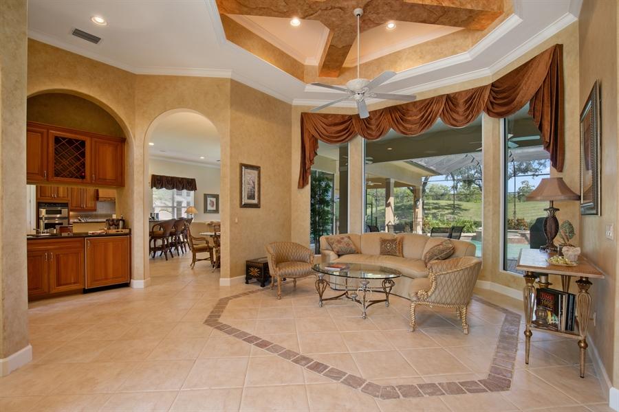 Real Estate Photography - 2955 Gardens Blvd, Naples, FL, 34105 - Foyer/Dining Room