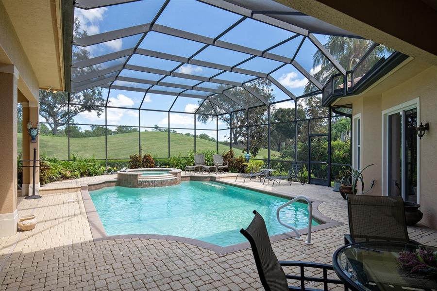 Real Estate Photography - 2955 Gardens Blvd, Naples, FL, 34105 - Pool