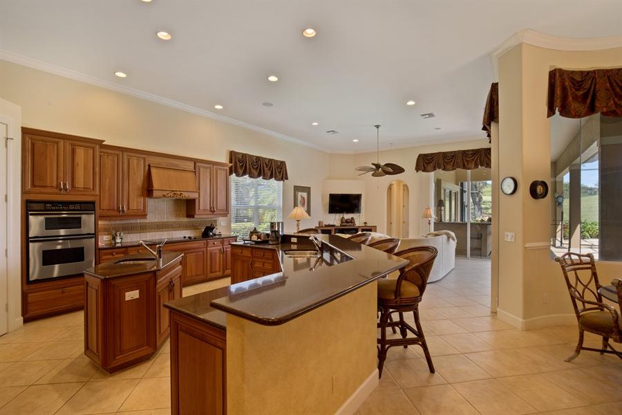 Real Estate Photography - 2955 Gardens Blvd, Naples, FL, 34105 - Kitchen
