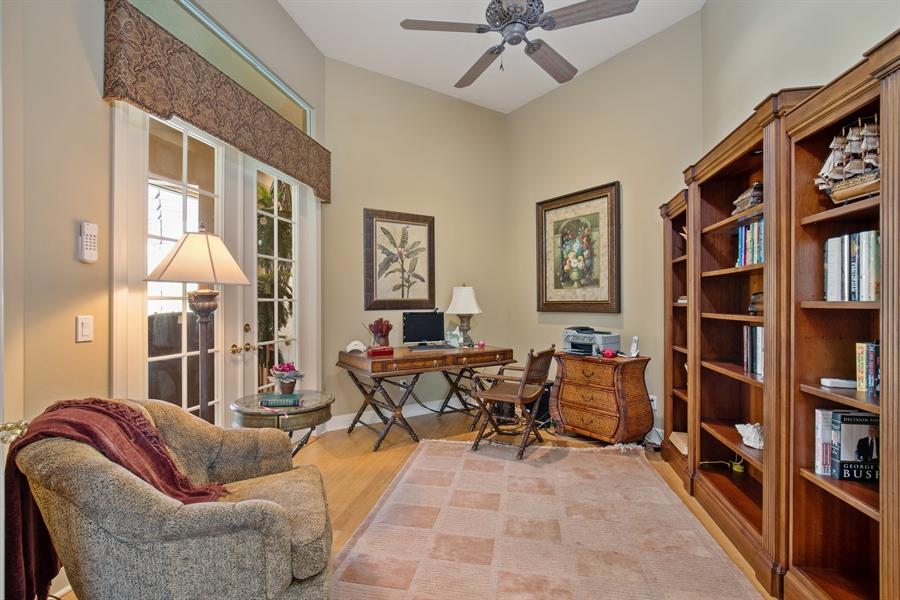 Real Estate Photography - 2955 Gardens Blvd, Naples, FL, 34105 - Office