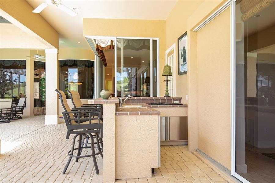 Real Estate Photography - 2955 Gardens Blvd, Naples, FL, 34105 - Bar