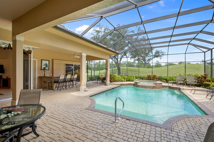 Real Estate Photography - 2955 Gardens Blvd, Naples, FL, 34105 - Lanai
