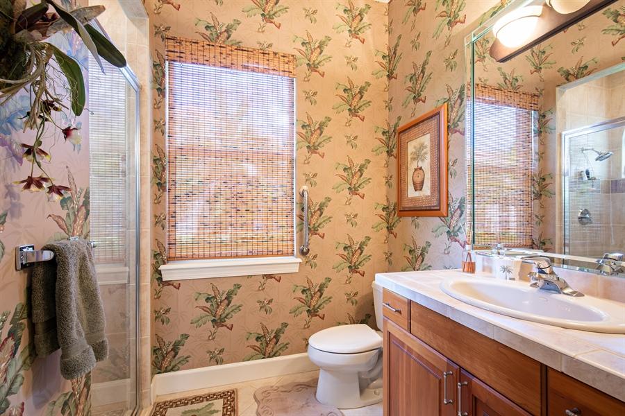 Real Estate Photography - 2955 Gardens Blvd, Naples, FL, 34105 - 2nd Bathroom