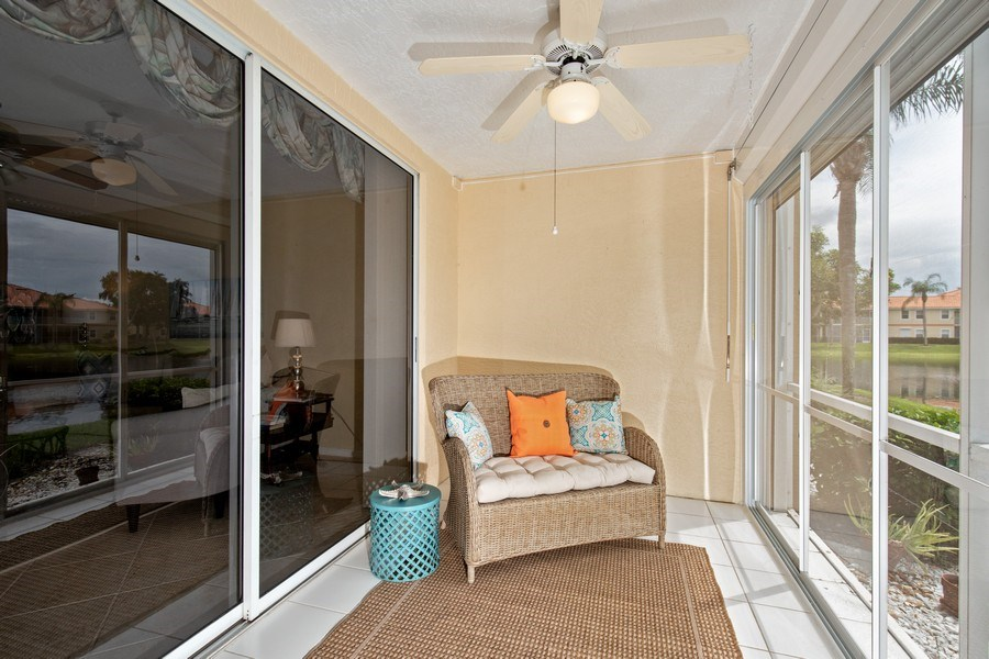 Real Estate Photography - 2506-104 Orchid Bay Drive, Naples, FL, 34109 - Lanai