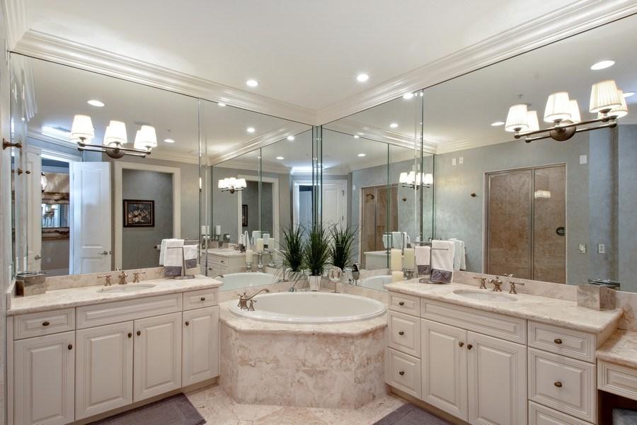 Real Estate Photography - 1400 Gulf Shore Blvd N, 309, Naples, FL, 34102 - Master Bathroom