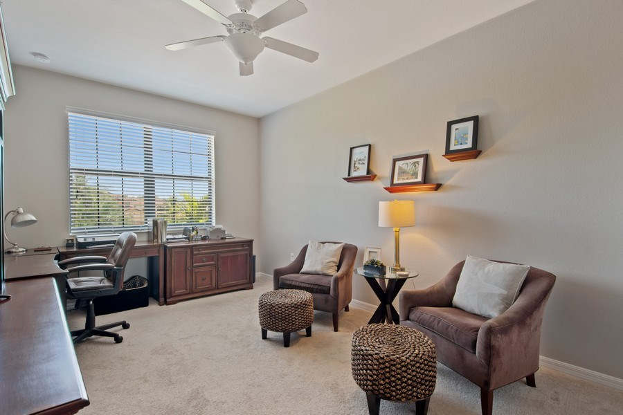 Real Estate Photography - 9127 Nappoli Court, Unit 202, Naples, FL, 34113 - Bedroom
