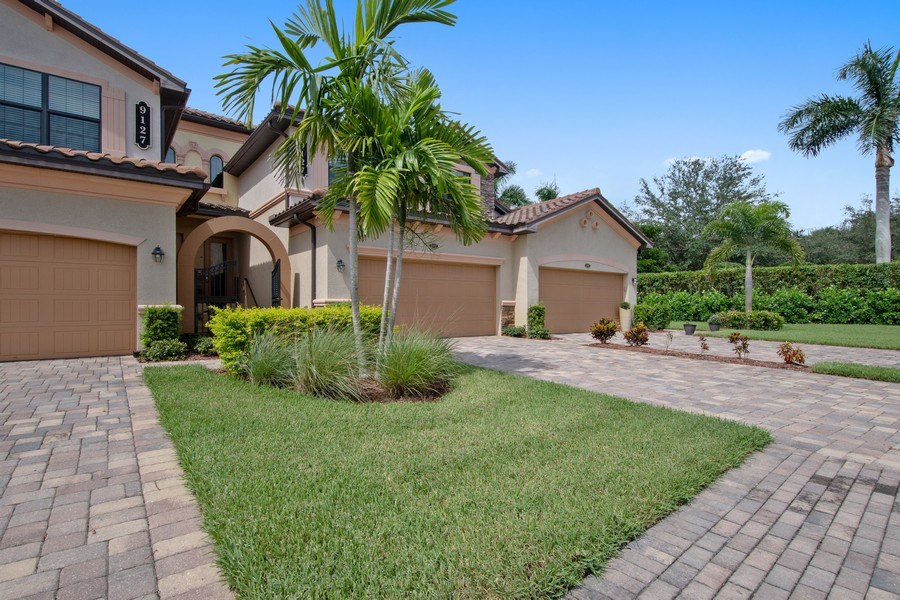 Real Estate Photography - 9127 Nappoli Court, Unit 202, Naples, FL, 34113 - Front View