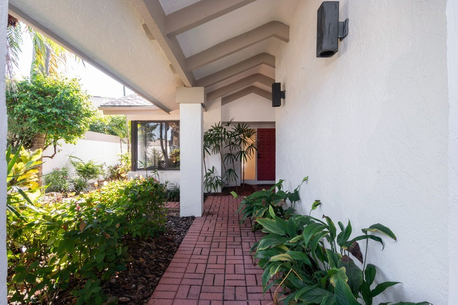 Real Estate Photography - 13242 Wedgefield Drive, Naples, FL, 34110 - Entry