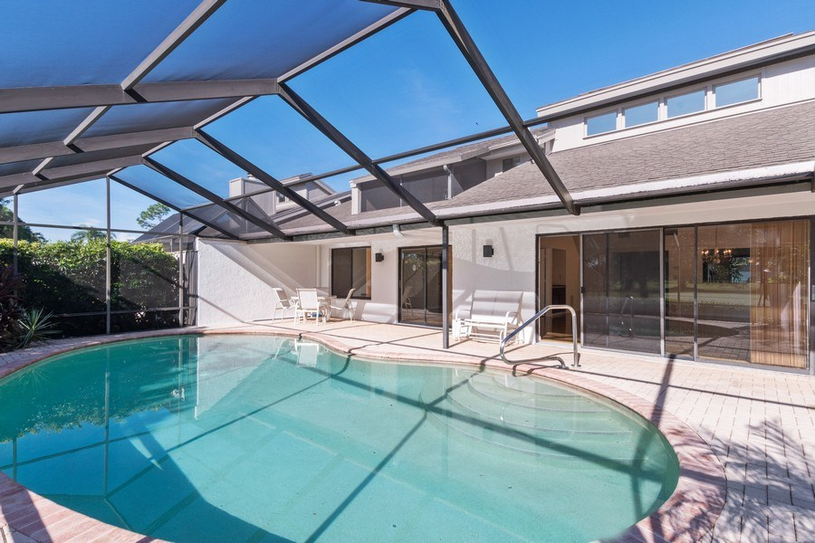 Real Estate Photography - 13242 Wedgefield Drive, Naples, FL, 34110 - Pool