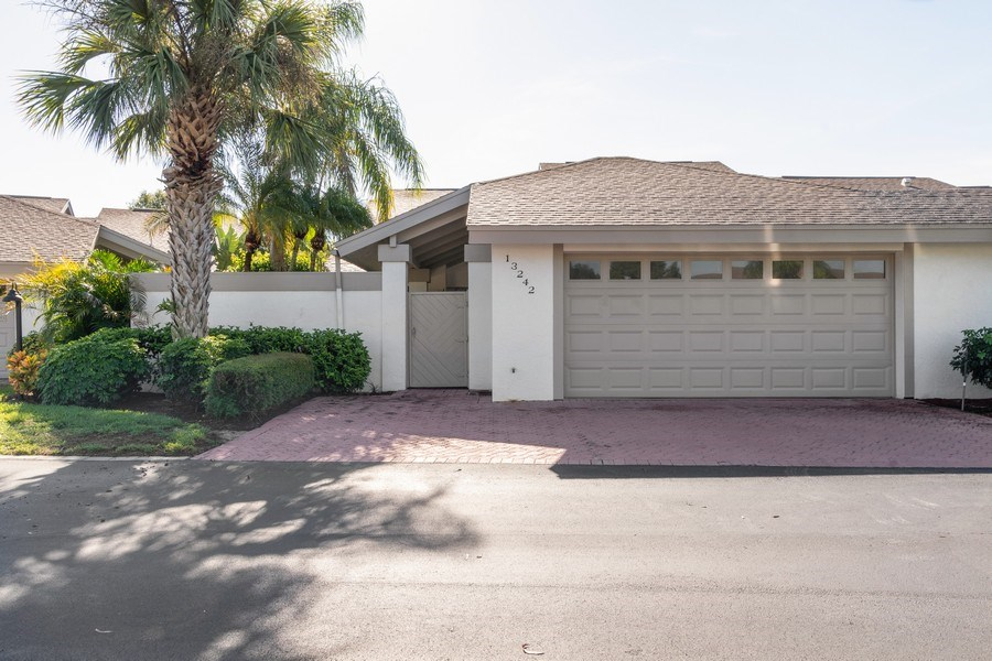 Real Estate Photography - 13242 Wedgefield Drive, Naples, FL, 34110 - Front View