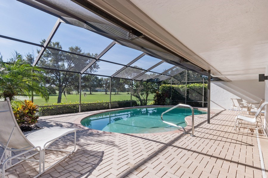 Real Estate Photography - 13242 Wedgefield Drive, Naples, FL, 34110 - Lanai and Pool