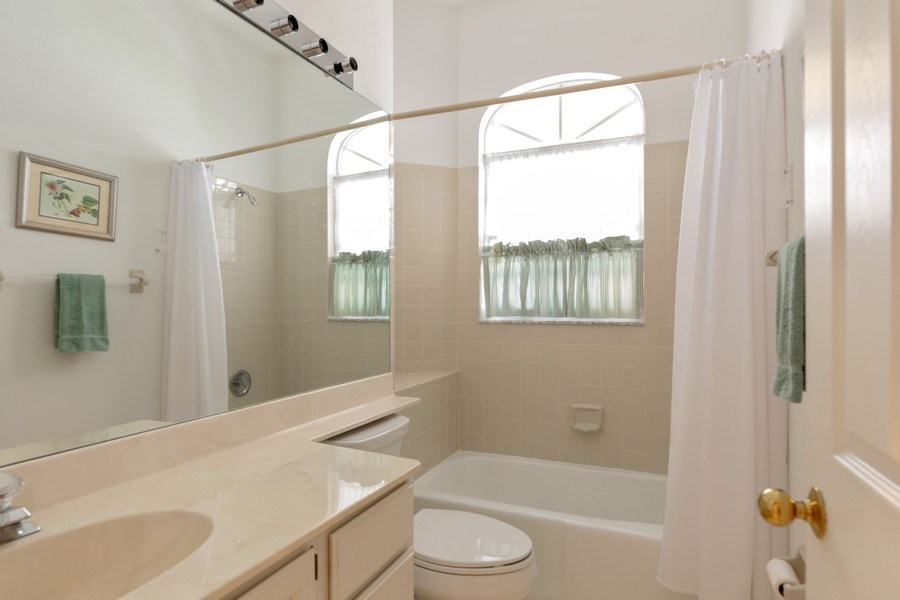 Real Estate Photography - 15283 Devon Green, Naples, FL, 34110 - 3rd Bathroom