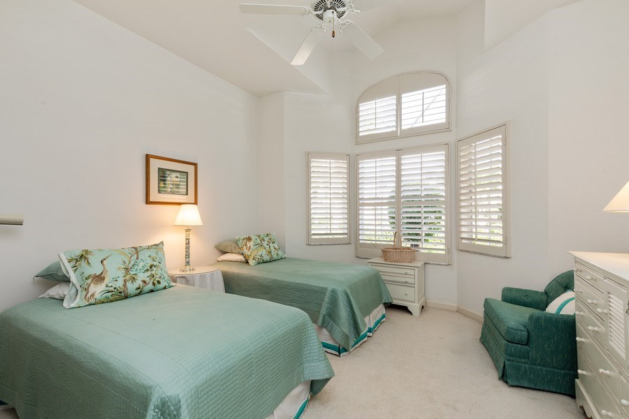 Real Estate Photography - 15283 Devon Green, Naples, FL, 34110 - 3rd Bedroom