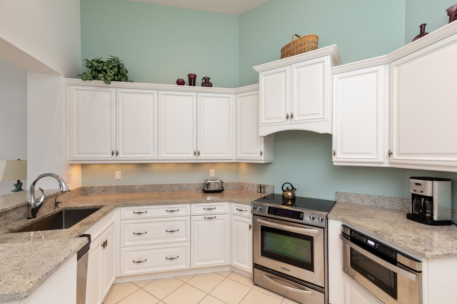 Real Estate Photography - 15283 Devon Green, Naples, FL, 34110 - Kitchen