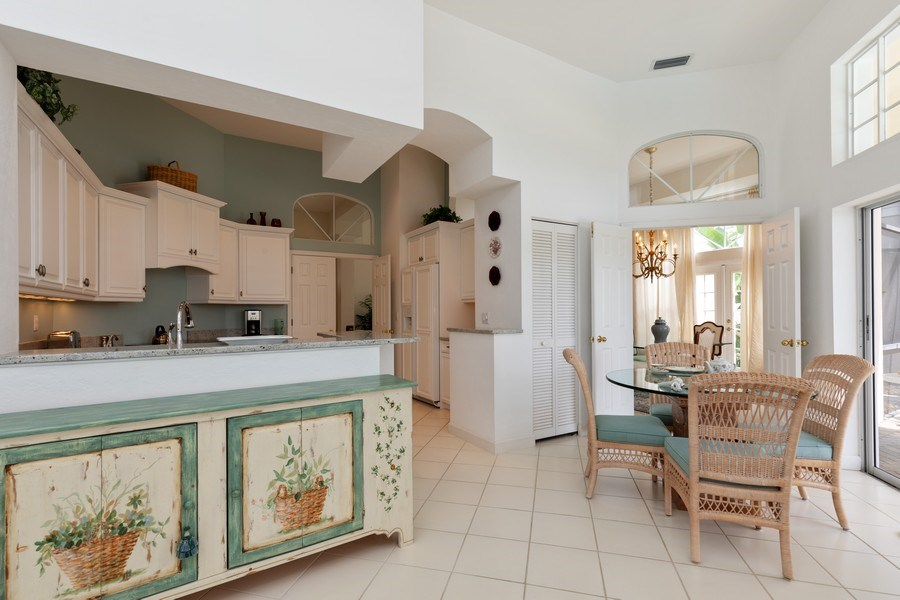 Real Estate Photography - 15283 Devon Green, Naples, FL, 34110 - Kitchen / Breakfast Room