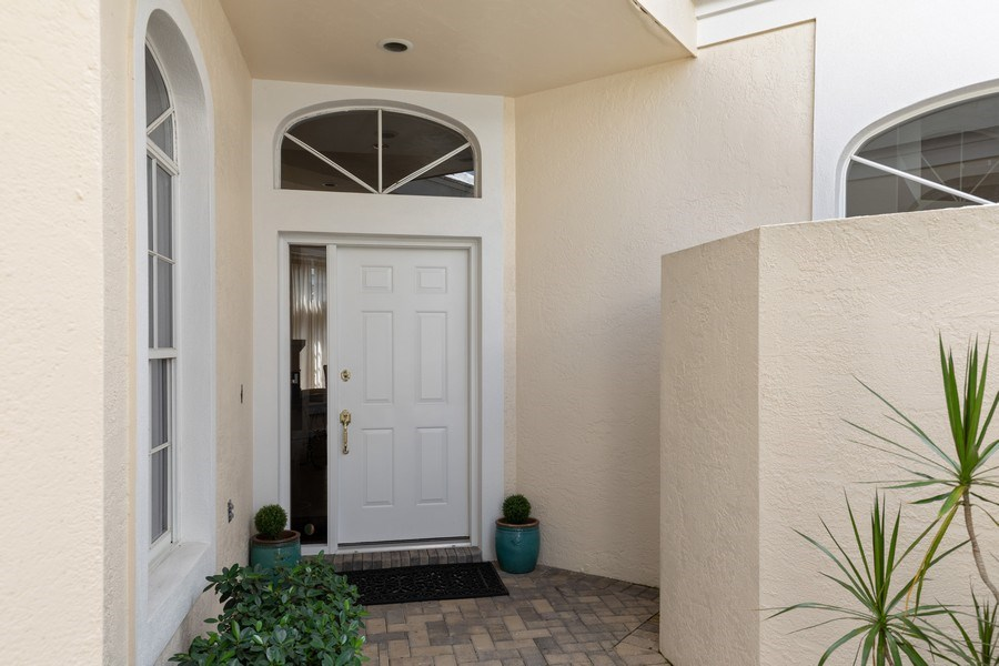 Real Estate Photography - 15283 Devon Green, Naples, FL, 34110 - Entrance
