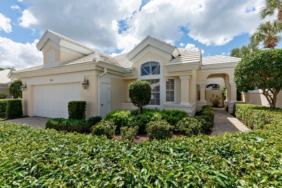 Real Estate Photography - 15283 Devon Green, Naples, FL, 34110 - Front View