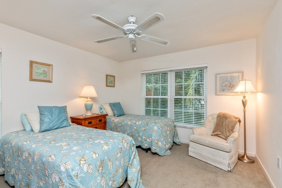 Real Estate Photography - 5895 Chanteclair, Unit 128, Naples, FL, 34108 - 2nd Bedroom