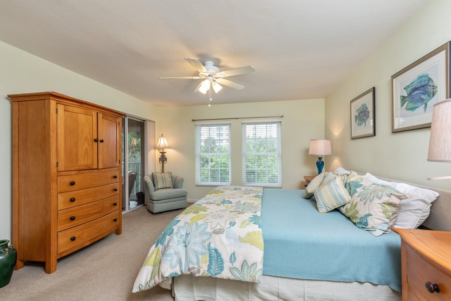 Real Estate Photography - 5895 Chanteclair, Unit 128, Naples, FL, 34108 - Master Bedroom