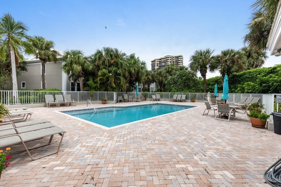 Real Estate Photography - 5895 Chanteclair, Unit 128, Naples, FL, 34108 - Pool