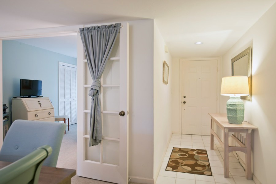 Real Estate Photography - 5895 Chanteclair, Unit 128, Naples, FL, 34108 - Foyer