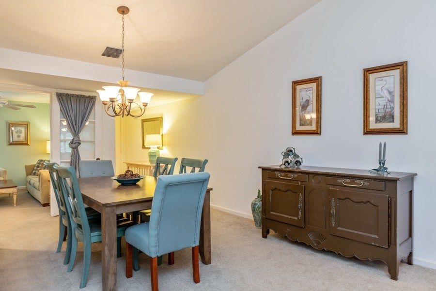 Real Estate Photography - 5895 Chanteclair, Unit 128, Naples, FL, 34108 - Dining Area