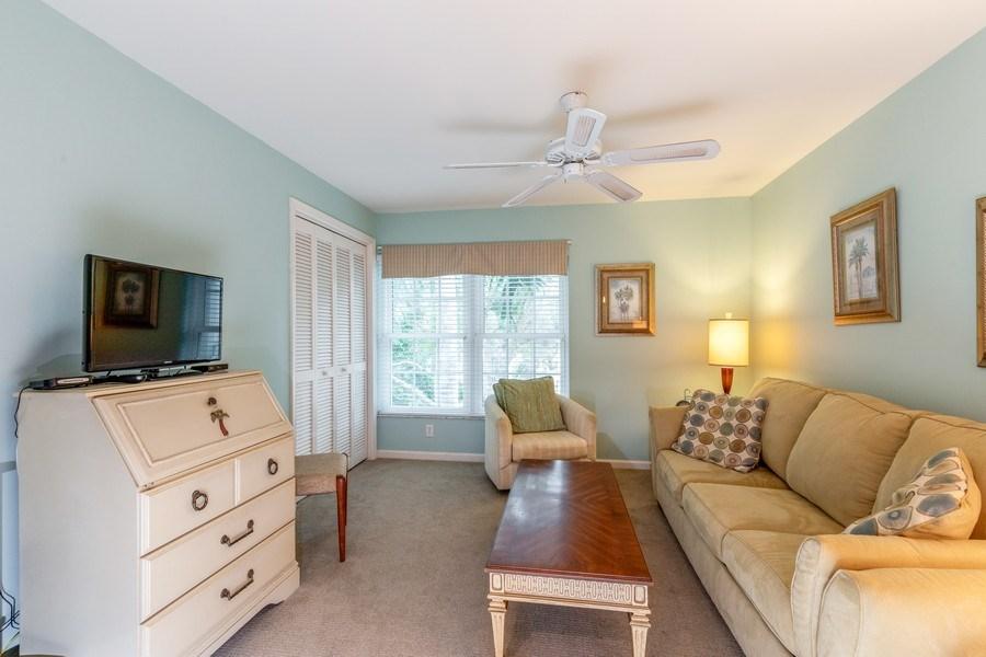 Real Estate Photography - 5895 Chanteclair, Unit 128, Naples, FL, 34108 - Den
