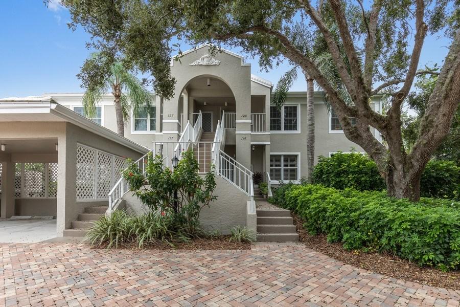 Real Estate Photography - 5895 Chanteclair, Unit 128, Naples, FL, 34108 - Front View