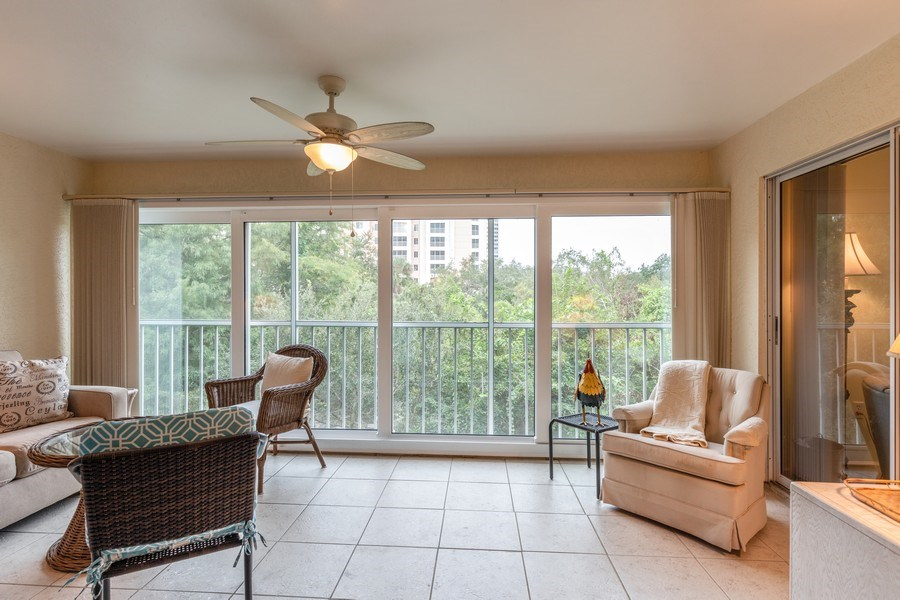 Real Estate Photography - 5895 Chanteclair, Unit 128, Naples, FL, 34108 - Lanai