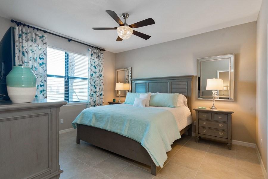 Real Estate Photography - 9433 Benvenuto Court, 102, Naples, FL, 34119 - Master Bedroom