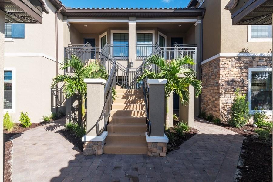 Real Estate Photography - 9433 Benvenuto Court, 102, Naples, FL, 34119 - Front View