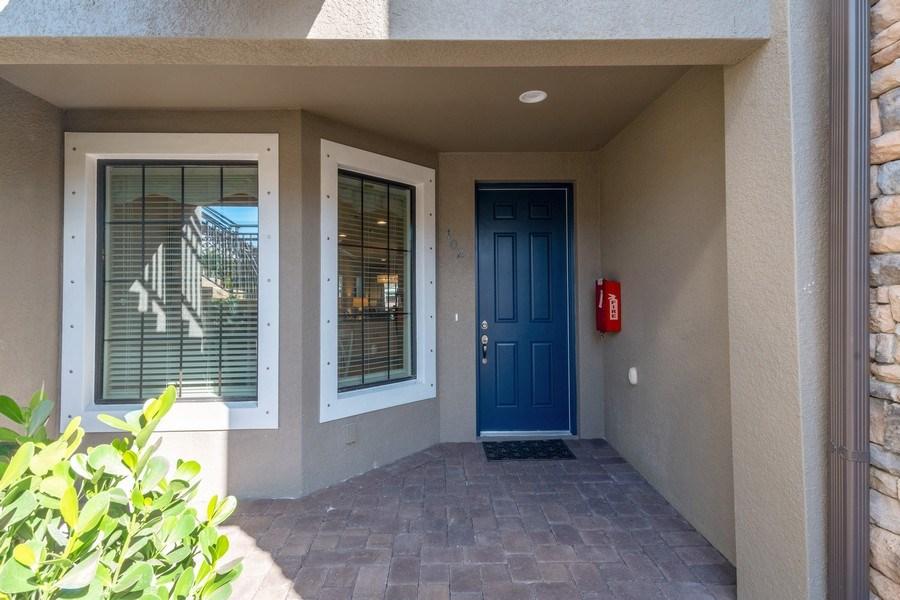 Real Estate Photography - 9433 Benvenuto Court, 102, Naples, FL, 34119 - Entrance