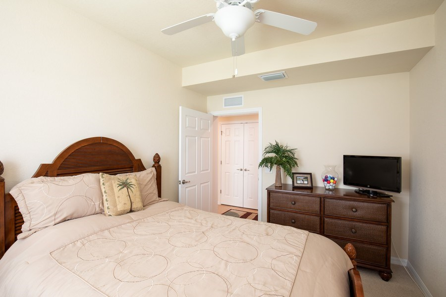Real Estate Photography - 28040 COOKSTOWN CT 2801, BONITA SPRINGS, FL, 34135 - 2nd Bedroom
