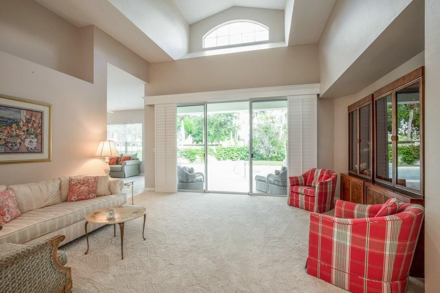 Real Estate Photography - 767 Glendevon Drive, Naples, FL, 34105 - Living Room