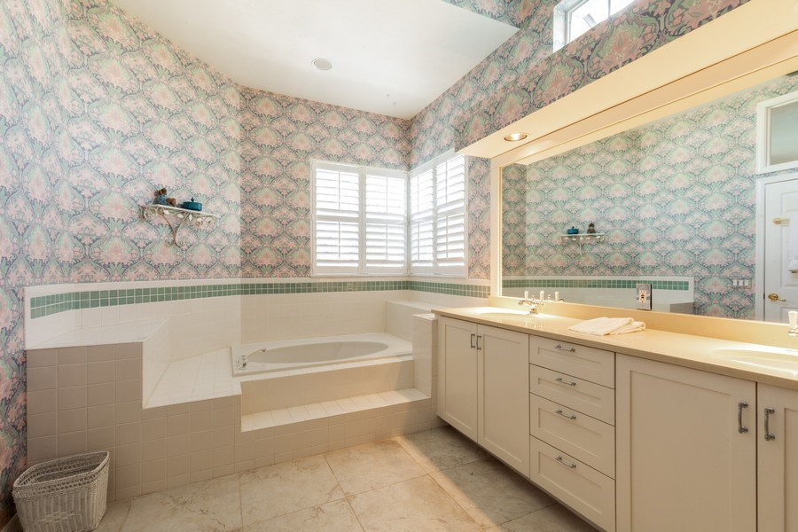 Real Estate Photography - 767 Glendevon Drive, Naples, FL, 34105 - Master Bathroom