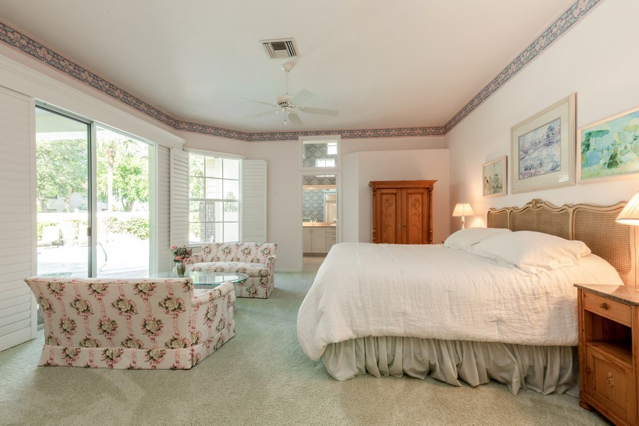 Real Estate Photography - 767 Glendevon Drive, Naples, FL, 34105 - Master Bedroom