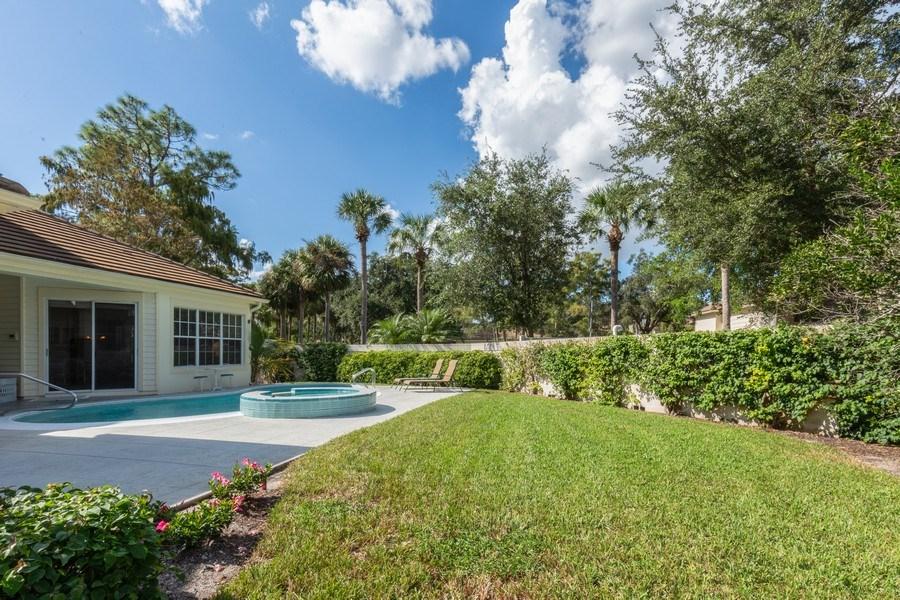 Real Estate Photography - 767 Glendevon Drive, Naples, FL, 34105 - Back Yard