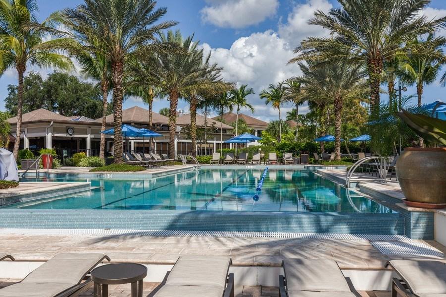 Real Estate Photography - 767 Glendevon Drive, Naples, FL, 34105 - Pool