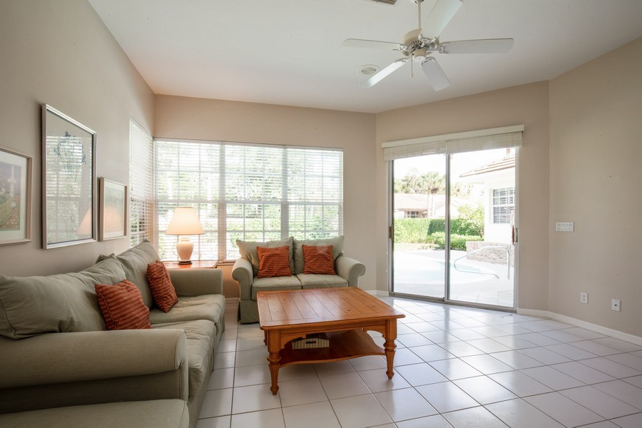 Real Estate Photography - 767 Glendevon Drive, Naples, FL, 34105 - Family Room