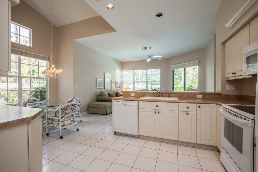 Real Estate Photography - 767 Glendevon Drive, Naples, FL, 34105 - Kitchen